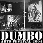 link button to show page titled Protest at DUMBO Arts Festival 2004